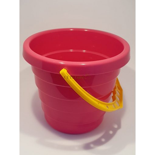 Homokozó vödör - 14 cm, rózsaszín