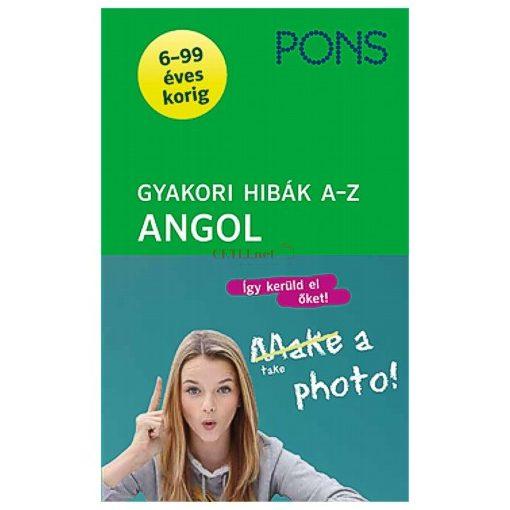 PONS Gyakori hibák A-Z – Angol