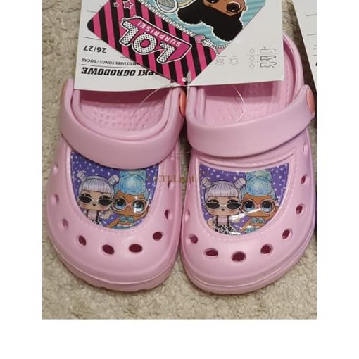 LOL Surprise gyerek papucs clog rózsaszín, 24-25