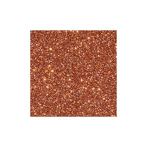 Glitterkarton, A4, 220 g, narancs