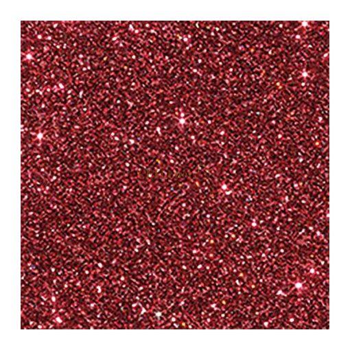 Glitterkarton, A4, 220 g, piros