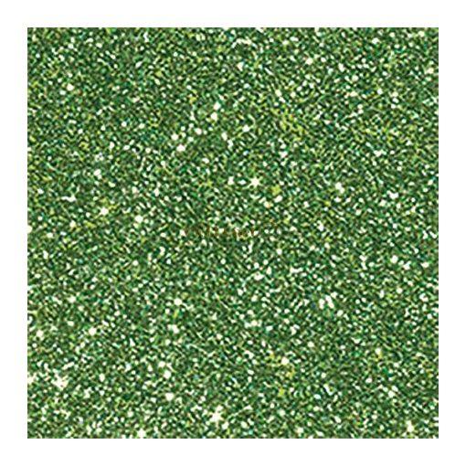 Glitterkarton, A4, 220 g, világoszöld