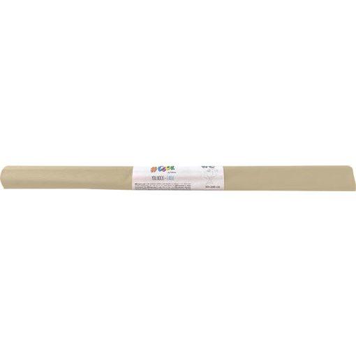 Krepp-papír, 50x200 cm, VICTORIA, elefántcsont