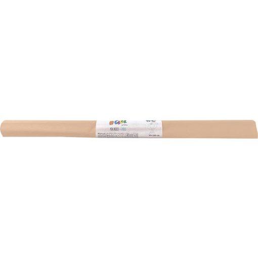 Krepp-papír, 50x200 cm, VICTORIA, barack