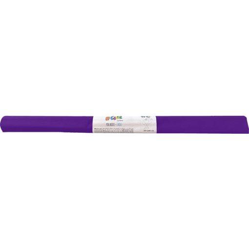 Krepp-papír, 50x200 cm, VICTORIA, lila