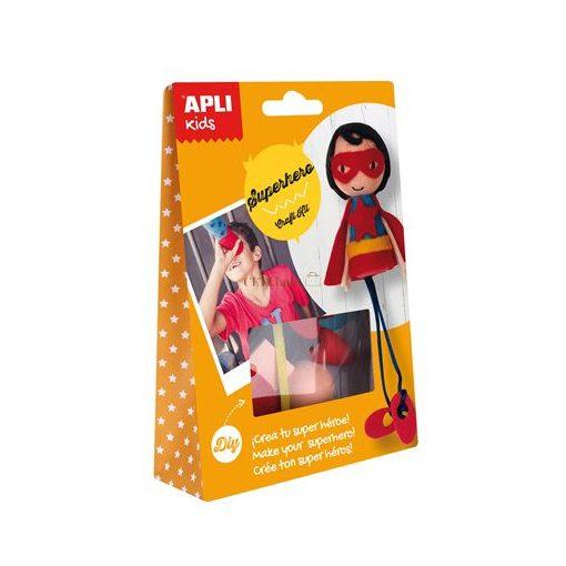 APLI Bábukészítő készlet, szuperhős