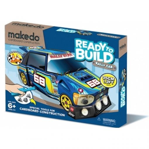 MAKEDO Ready to Build autók - Rally autó