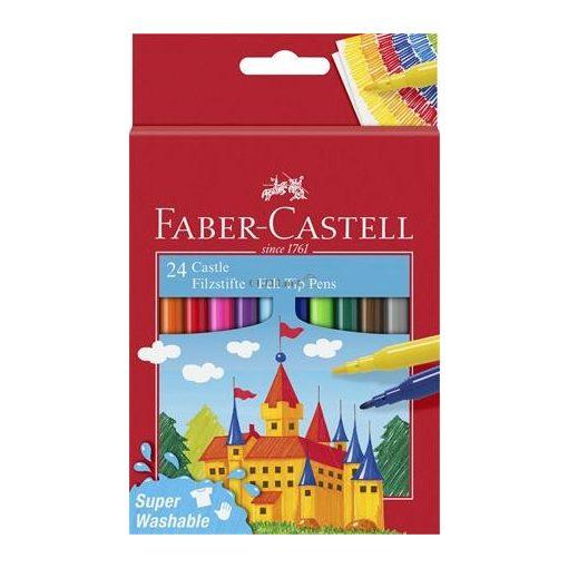 """Filctoll készlet, FABER-CASTELL, 24 különböző szín """"Castle"""""""